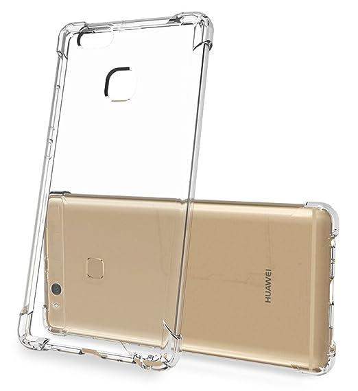 11 opinioni per Huawei P10 Lite Cover- SMTR Slim Cover Custodia in silicone Ultra Sottile Clear