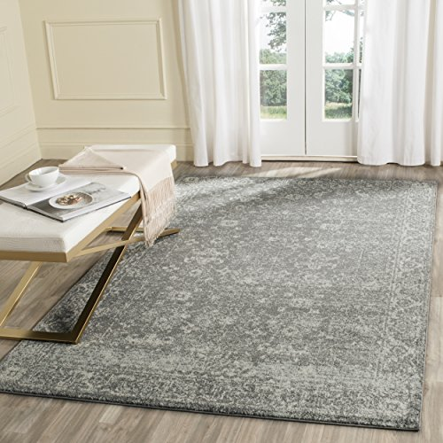 Safavieh Evoke Collection EVK270S Vintage Grey and Ivory Are