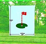 Hubble Golf Net Target 5'x6' Training Aid Driving Range Target Backstop(71''x58'')
