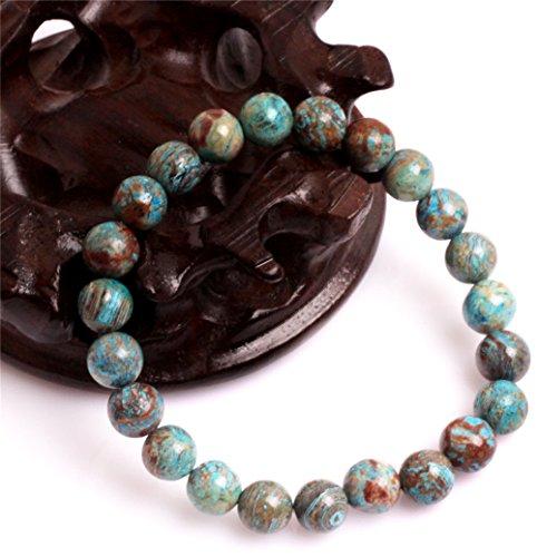 GEM-inside Blue Crazy Lace Agate Elastic Etsy Energy Jewelry Fashion Bracelets For Women 7