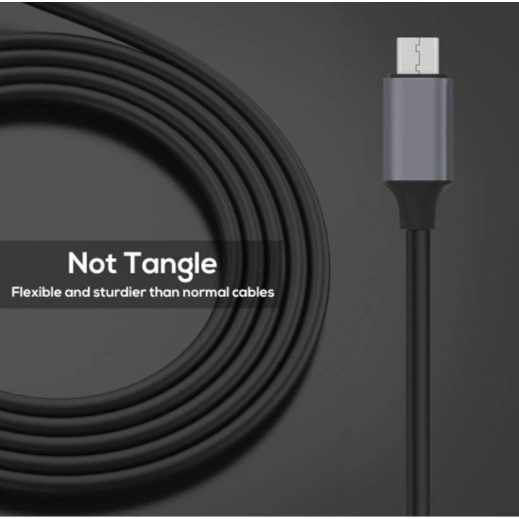 neneleo Intelligent Display Fast Charging Data Cable Line for Android Type-C Cables