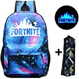 Fortnite Battle Royale School Bag Backpack Notebook Backpack Daily Backpack for Kids Boys Girls