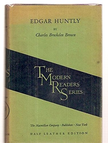edgar huntly Free kindle book and epub digitized and proofread by project gutenberg.