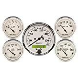 Auto Meter 1602-M Old Tyme White Street Rod Kit