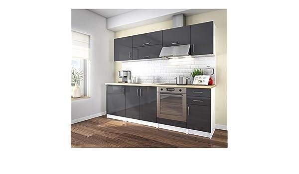 Générique Corry 240 Cocina Complete L 2 M40 - Gris Lacado: Amazon ...