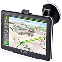 LESHP 7 inch HD Car GPS Navigation Android 8GB Quad-core Automobile Navigator