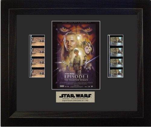 2 Double Film Cell - Star Wars Episode I: The Phantom Menace (Series 2) Framed Double Film Cell Presentation