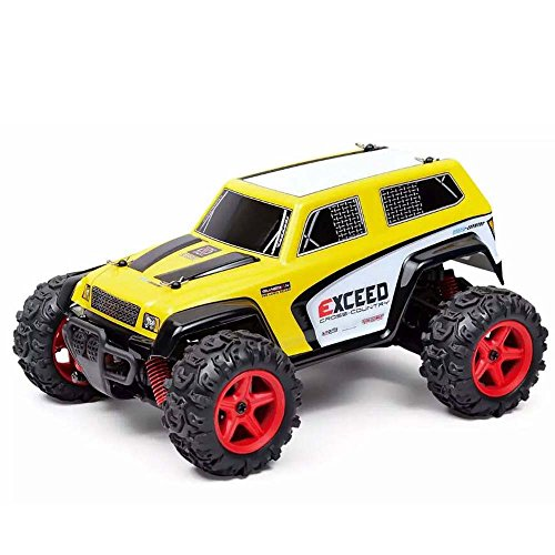 Choosebuy RC Car, SUBOTECH 25MPH 40km/h 1:24 High Speed Scale Off Road Car (Yellow) by Choosebuy (Image #1)