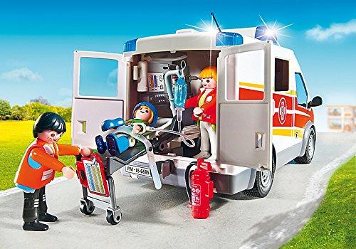 Jugatoys PLAYMOBIL Ambulancia con Luces Y Sonido 5