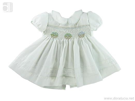 f79ec37073b1 Amazon.com  ANA - Baby Girl Hand Smocked Dress by Lolita Calella ...