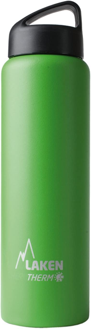 Laken Thermo Classic Vacuum Insulated Stainless Steel Water Bottle Wide Mouth