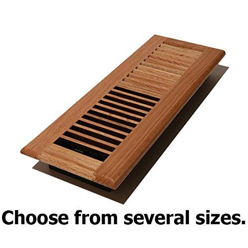 Natural Solid Oak Wood Floor Register 4x 10