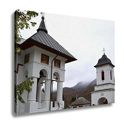 Ashley Canvas, Church Of Cheia Monastery Prahova Romanian Orthodox Complex Located On The, Home Decoration Office, Ready to Hang, 20x25, AG6547408 by Ashley Canvas