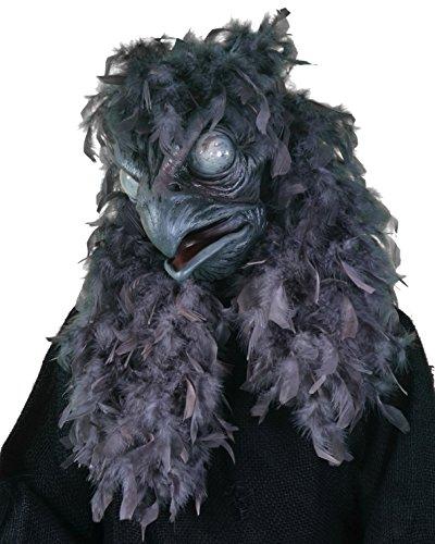 Zagone Studios Black Bird Moving Mouth Mask]()