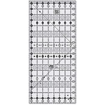 Creative Grids 8.5 x 18.5 Rectangle Quilting Ruler Template CGR818