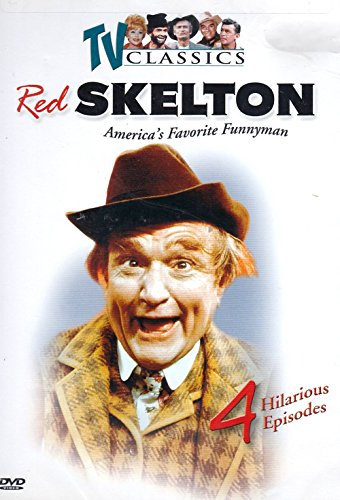 The Red Skelton Show, Vol.2 , 4 Hilarious Episodes ( Halloween show, How to make a salad, Mr. Lasagna and Do it yourself trailer -