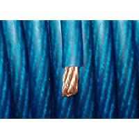 BLUE 0 Gauge Power/Amplifier Wire (3 Minimum Purchase Required) BY-THE-FOOT 1/0 AWG Primary Cable