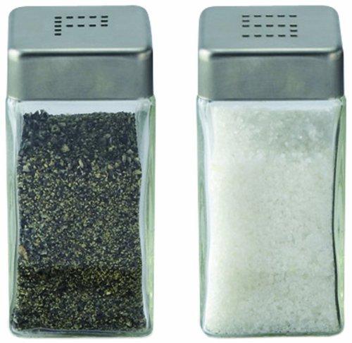 Cuisinox Salt and Pepper Shaker Set, Stainless Steel by Cuisinox