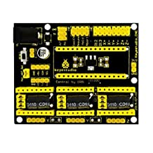 MonkeyJack CNC Shield V4 Engraving Machine Stepper Motor Driver for Arduino GRBL