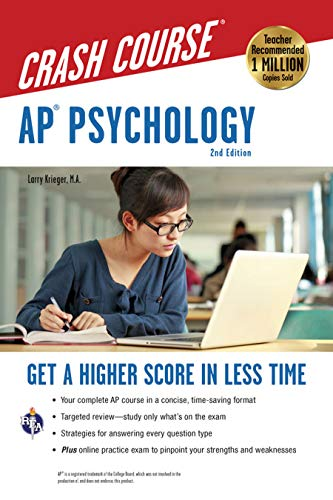 Pdf Teen AP® Psychology Crash Course, 2nd Ed., Book + Online (Advanced Placement (AP) Crash Course)