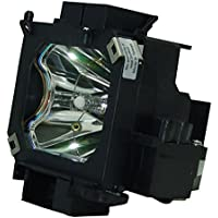AuraBeam Economy Epson PowerLite 7800 Projector Replacement Lamp with Housing