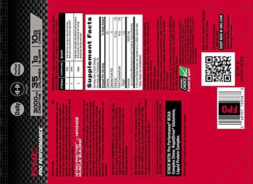 GNC Pro Performance Creatine Complex Chew - Sour Cherry