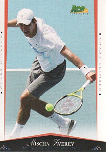 2008 Ace Authentic Match Point Blue Tennis #63 Mischa Zverev