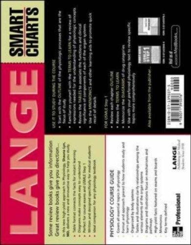 Lange Smart Charts Physiology (LANGE Basic Science)