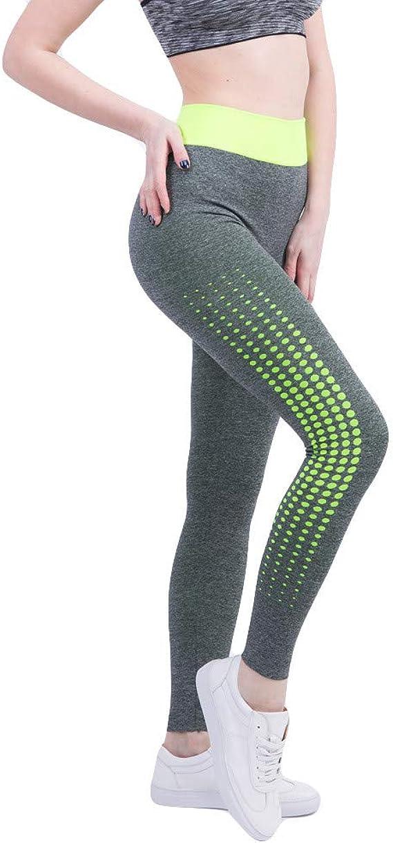 Pantalones de Chándal Deportes de Mujer Running Yoga Leggings ...
