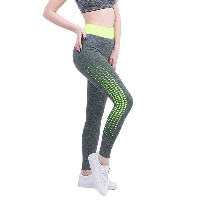 Pantalones de Chándal Deportes de Mujer Running Yoga ...