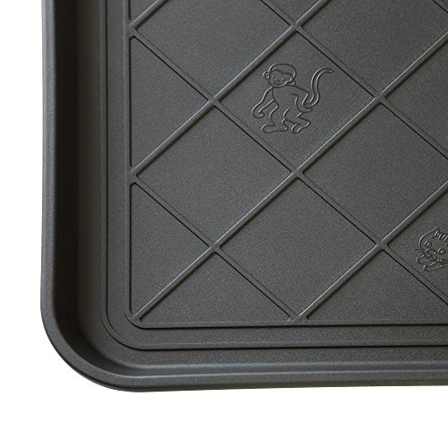 Stalwart 75-ST6013 ECO Friendly Utility Boot Tray Mat, 20'' x 15''/Small, Black by Stalwart (Image #3)
