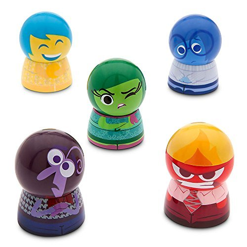 Disney Store Deluxe Inside Out Lip Balm Set Fear Sadness Disgust Fear by Disney Interactive Studios