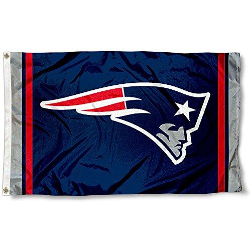 3 Flag Football (New England Patriots Large NFL 3x5 Flag)