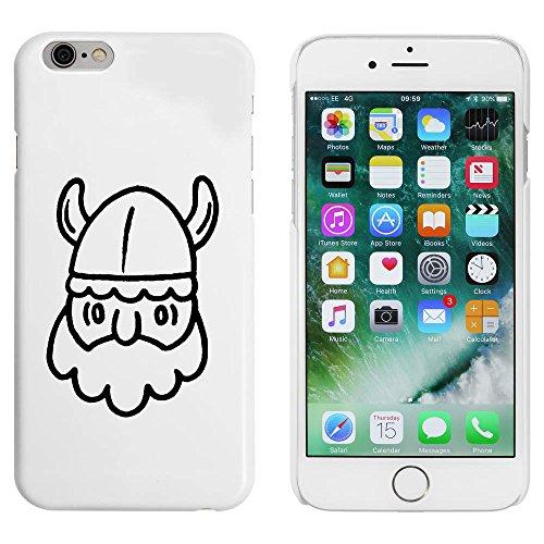 Blanc 'Tête Viking' étui / housse pour iPhone 6 & 6s (MC00051194)