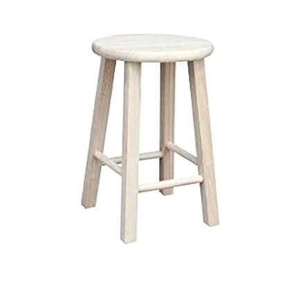 Surprising Amazon Com Ghy Short Bar Stool Outdoor Porch Backyard Andrewgaddart Wooden Chair Designs For Living Room Andrewgaddartcom
