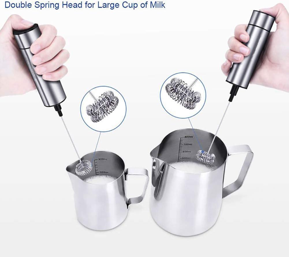 L-DiscountStore Portable Drink Mixer Latte ugello Piccolo frullatore Elettrico Portatile Stick