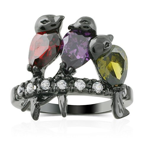 JanKuo Jewelry Rhodium Finished Multi Color product image