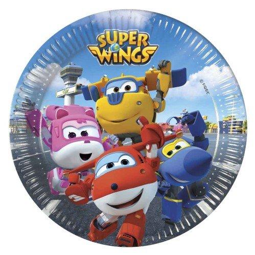 Procos Platos pequeños de Super Wings Travis Designs 88384 ...