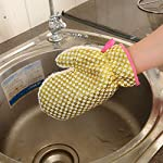 Tpingfe Non-Stick Oil Dish Washing Gloves, Kitchen Cleaning Brush Bowl Waterproof Gloves 5 ✩✩✩【Beautiful design】Pure white appearance, weaving process, beautiful and durable, thickness design (PVC gloves are not durable, not heat-resistant, can not be recycled). This project is recyclable and insulated. ✩✩✩【Strong decontamination】Waterproof - Built-in high-quality sponge, soft, sweat-absorbent; PEVC green waterproof material layer, effective waterproof, thick heat-resistant coating, take care of your hands. sponge brush painting crafts dishes curls holder paint refill tray art applicator sink silicone stick small holes sealer shaped caddy shower kitchen heads handle hand spong horse with soap large dispenser long on a scrub scrubs women daddy scrubbing bubbles men pants jackets toilet wand refills tops sets greys anatomy in bucket sponges pk pack original holders bottle print plus size towel stretch clearance tshirts tee shirts tv show prints top tall dvd stuff llc badge cards