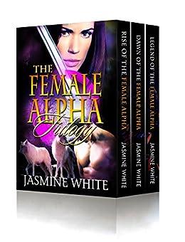 The Female Alpha Trilogy (Books 1-3): BBW Shifter Romance Box Set by [White, Jasmine]