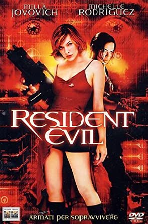 Amazon Com Resident Evil Italian Edition Milla Jovovich