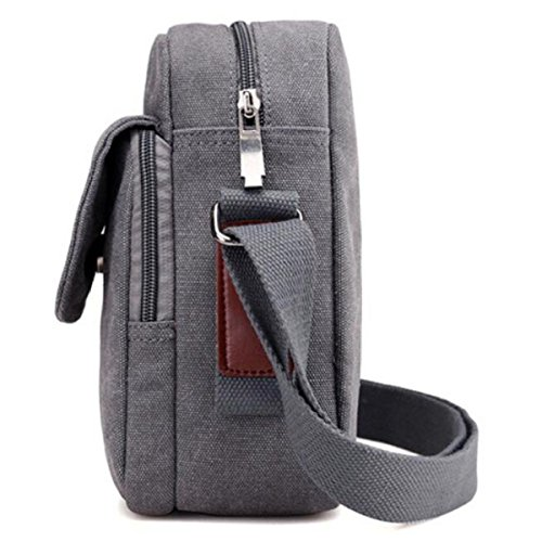 Casual Men's Brown Canvas brown Outdoor Fashion Bag Shoulder Bag RqqFnrad