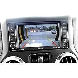 "AIE - Rear Camera Interface Kit for (2009-2017) JEEP Wrangler w/6.5"" MYGIG Screen Based Radio – w/Wrangler Spare Tire Camera"