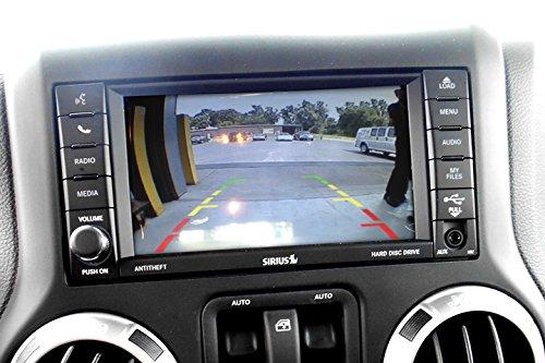 Rear Camera Interface Kit for w//Wrangler License Light Camera AIE JEEP Wrangler w//6.5 MYGIG Screen Based Radio 2009-17