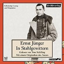 In Stahlgewittern Hörbuch von Ernst Jünger Gesprochen von: Tom Schilling, Ernst Jünger