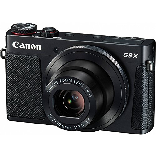 Canon PowerShot G9 X Digital Camera with 3X Optical Zoom, Built-in Wi-Fi and 3 inch...