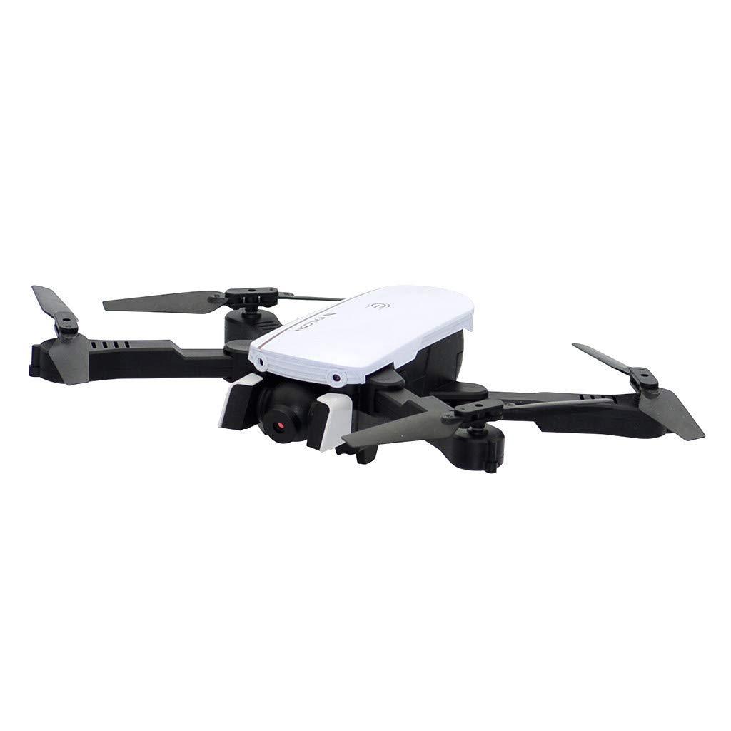 Pstars Folding Quadcopter WiFi FPV 4K Dual Camera Attitude Hold Optical Flow Positiong RC Quadcopter Drone HD 4K Aerial Optical Flow Follows Dual Camera