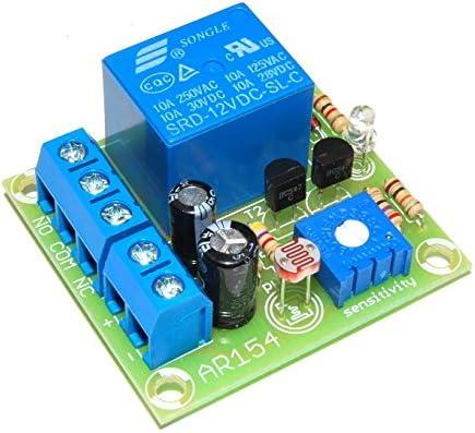 arlikits ar154automático Interruptor crepuscular Montar Sensor Crepuscular Regulable Sensor de luz