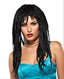 Wig Demure Dreads Black Costume Accessory