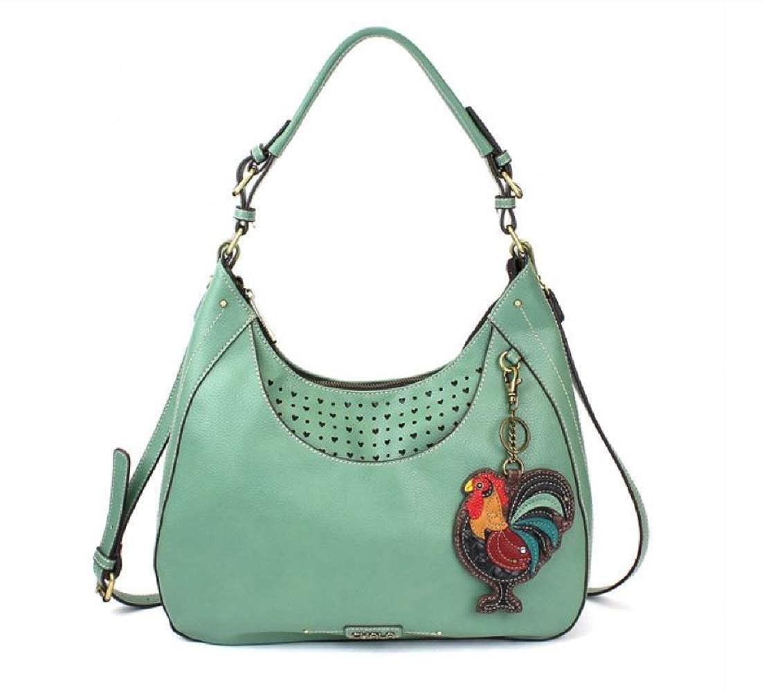 Teal Chala Sweet Tote Bag Rooster